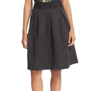 Ted Baker London  Tonal Plaid Full Skirt